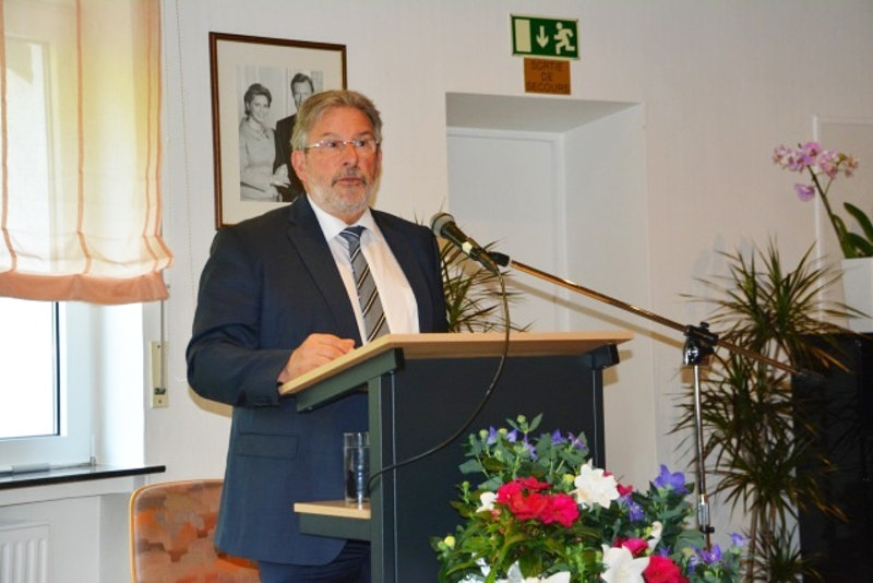 In Luxembourg, President of Chamber of Deputies expresses appreciation for work of Baha'i community