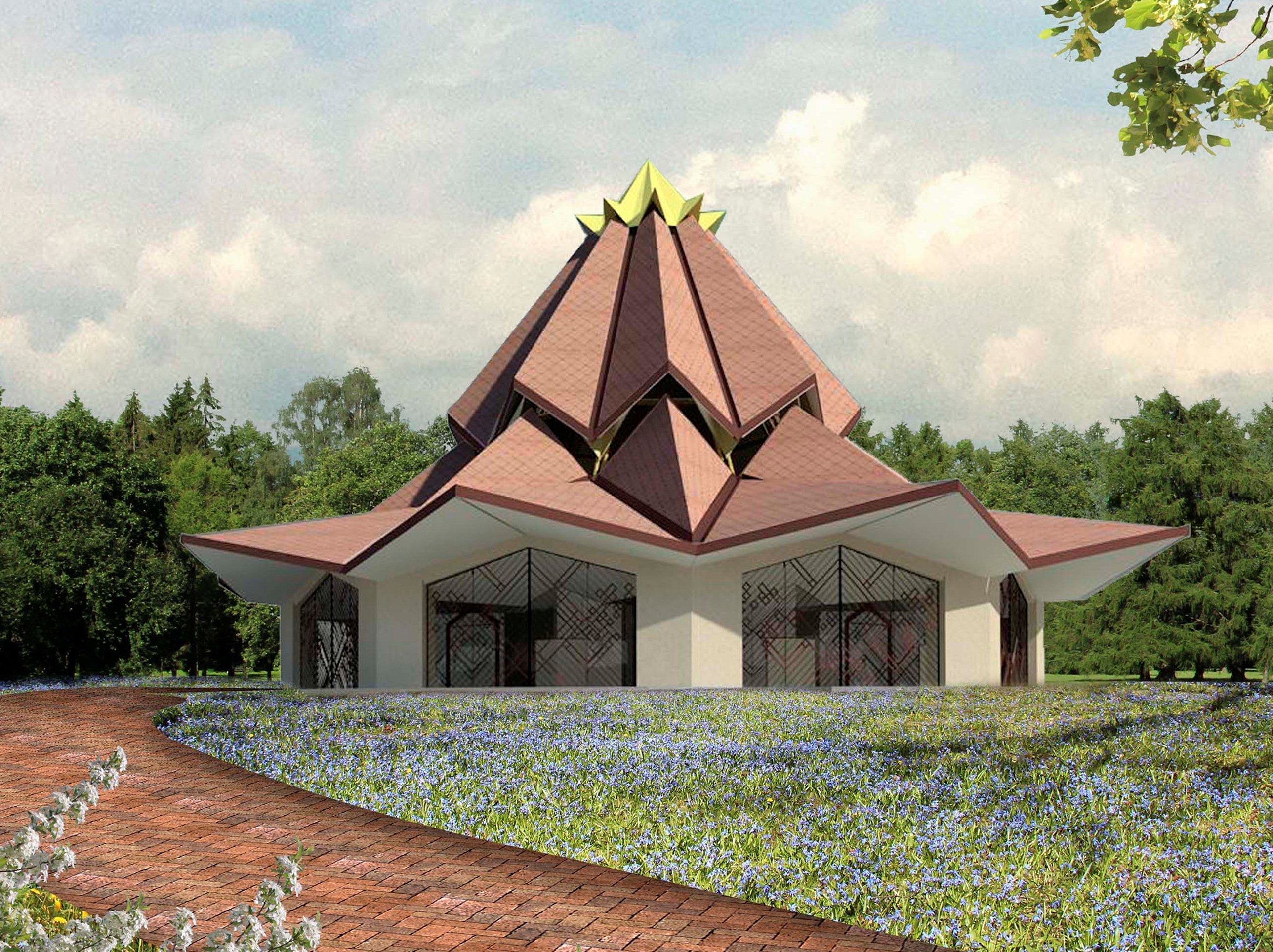 design of colombian house of worship unveiled bah world news service bwns - Local Home Designers