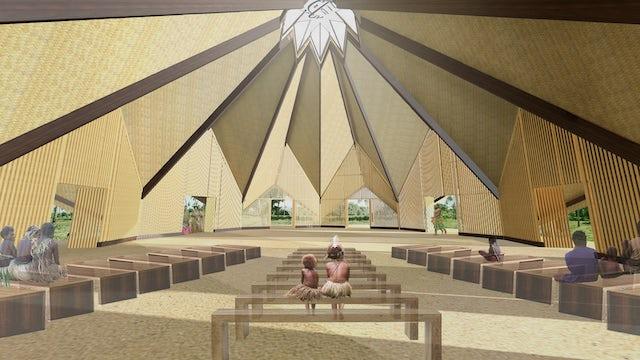 Design of Vanuatu Temple unveiled