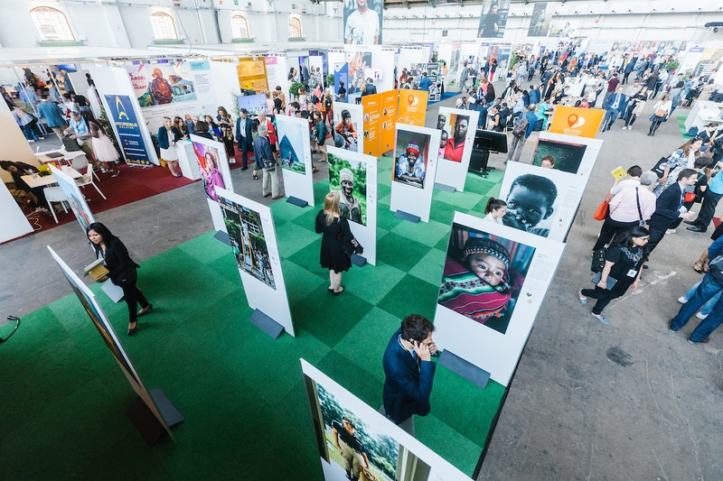 "The European Development Days is a major forum organized by the European Commission to bring together the development community for the exchange of experiences and ideas. The theme of this year's forum was ""Women and girls at the forefront of sustainable development."" Photo Credit: EDD 2018"