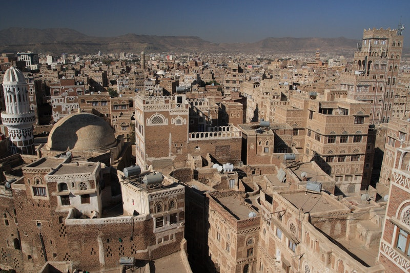 The Iran-backed Houthi authorities in Sana'a, Yemen targeted some 20 Baha'is with a string of baseless charges on Saturday. (Photo by yeowatzup, accessed through Wikimedia Commons)