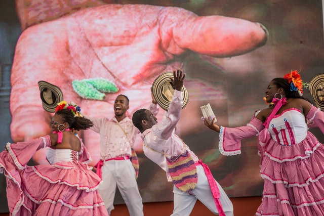 "During the Colombia Temple's inauguration ceremony on 22 July, dancers perform the song ""La Cumbia del Jardinero,"" which uses a metaphor of a gardener to describe the process of spiritual education."