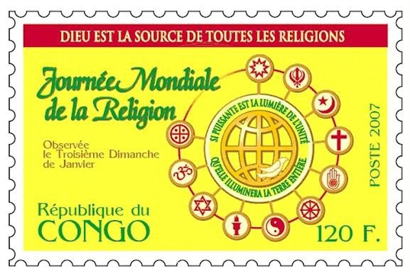 Congo Republic stamp issued in 2007.